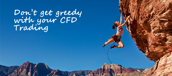 CFD Greed and risks