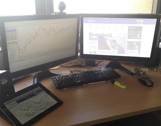 Multi Monitor Trading Setup