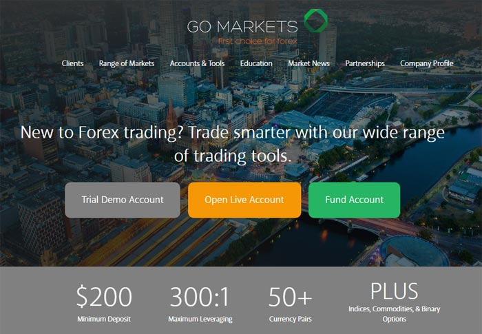 Go markets binary options review