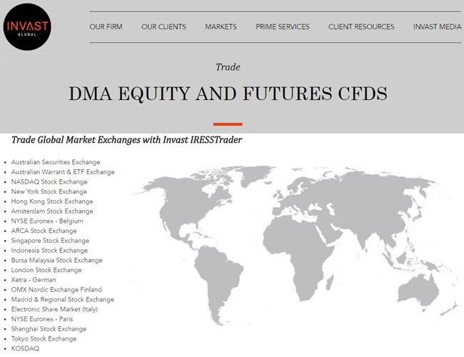 Invast Global Forex Broker Review | Best DMA CFDs in Australia?