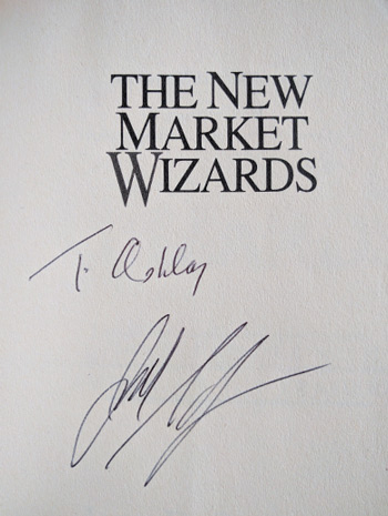 best trading books jack schwager signed